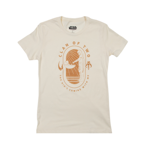 Kid's Coming With Me Women's White Tee