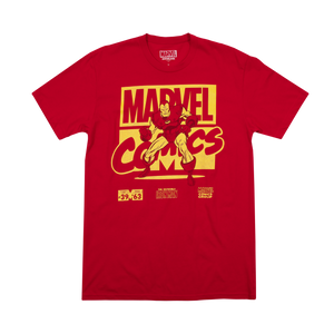 Marvel Comics Iron Man Red Tee