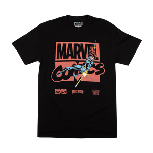 Marvel Comics Black Widow Black Tee