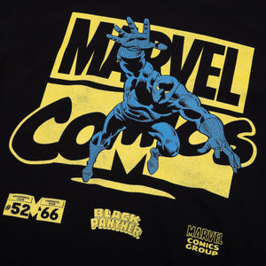 Marvel Comics Black Panther Black Tee