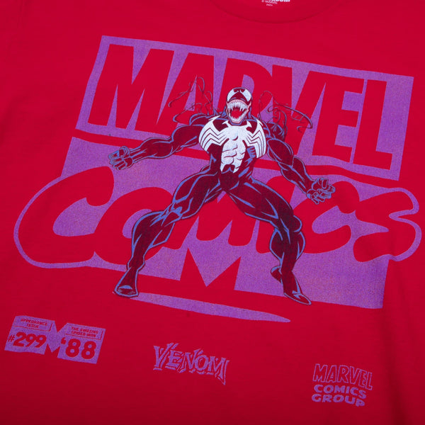 Marvel Comics Venom Red Tee