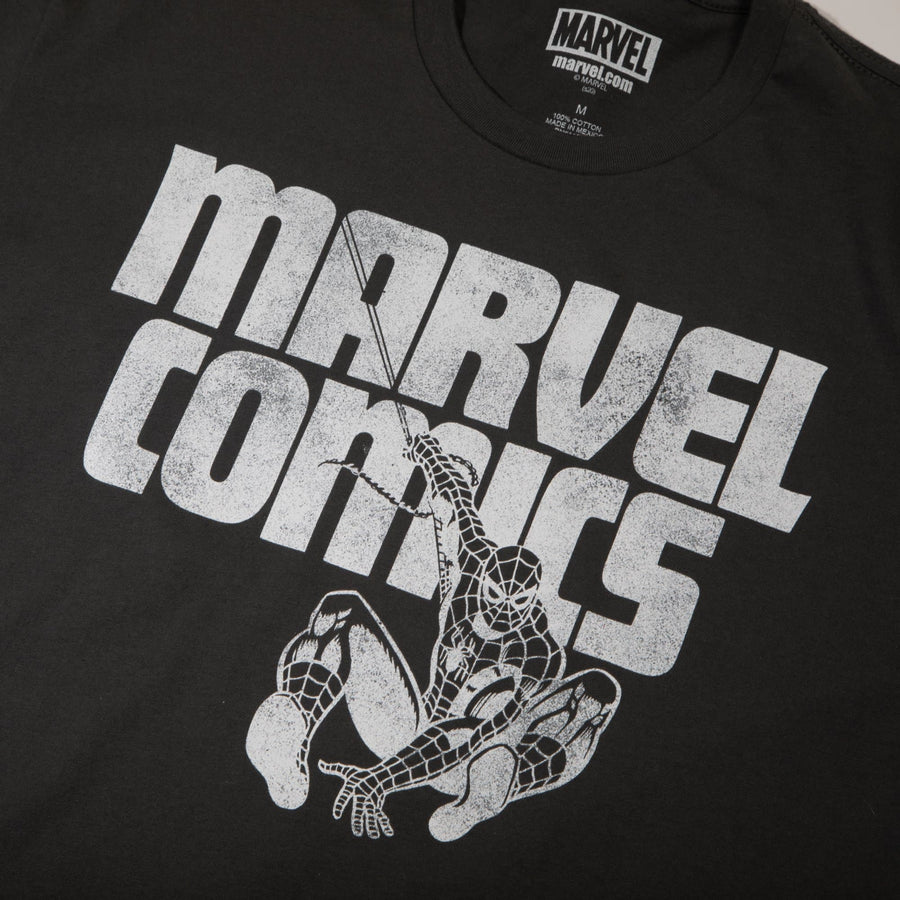 Spider-Man Classic Spidey Charcoal Tee
