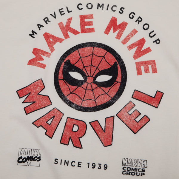 Marvel Comics Vintage Spidey Natural Tee