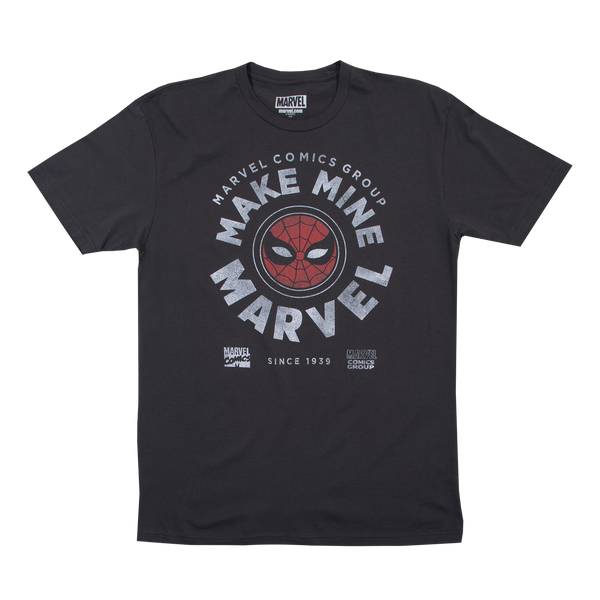 Marvel Comics Vintage Spidey Black Tee