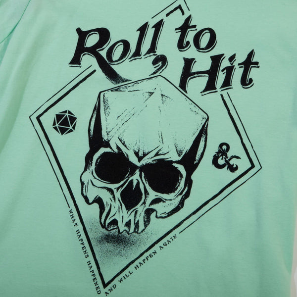D&D Roll to Hit Mint Women's Tee