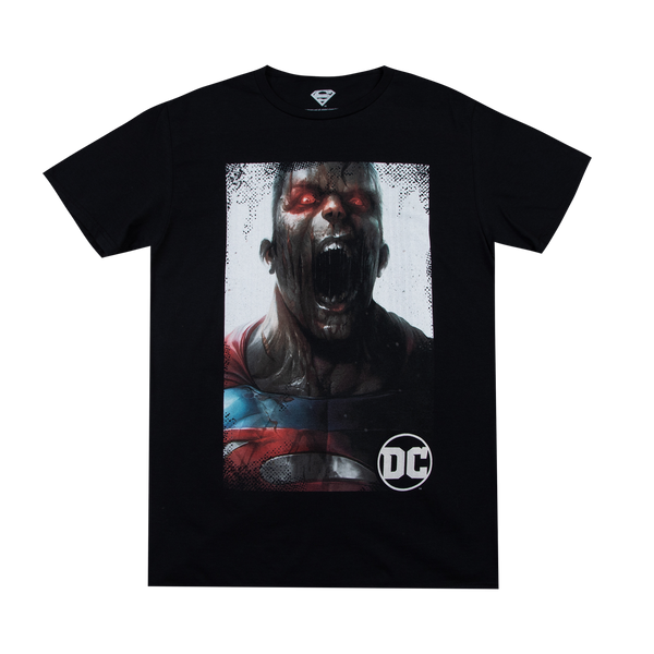 Superman DCeased Black Tee