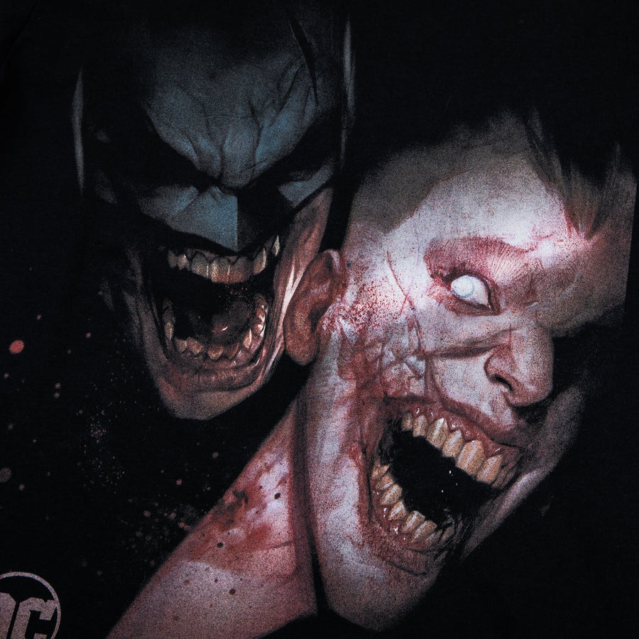 Batman & Joker DCeased Black Tee