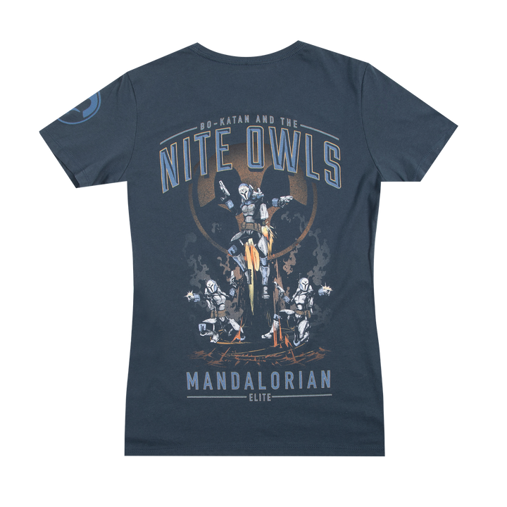Star Wars Bo-Katan And The Nite Owls Indigo Women's Tee