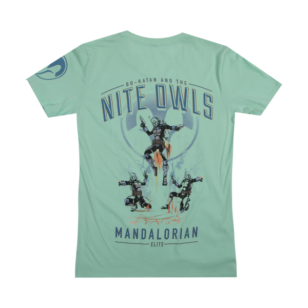 Star Wars Bo-Katan And The Nite Owls Mint Women's Tee