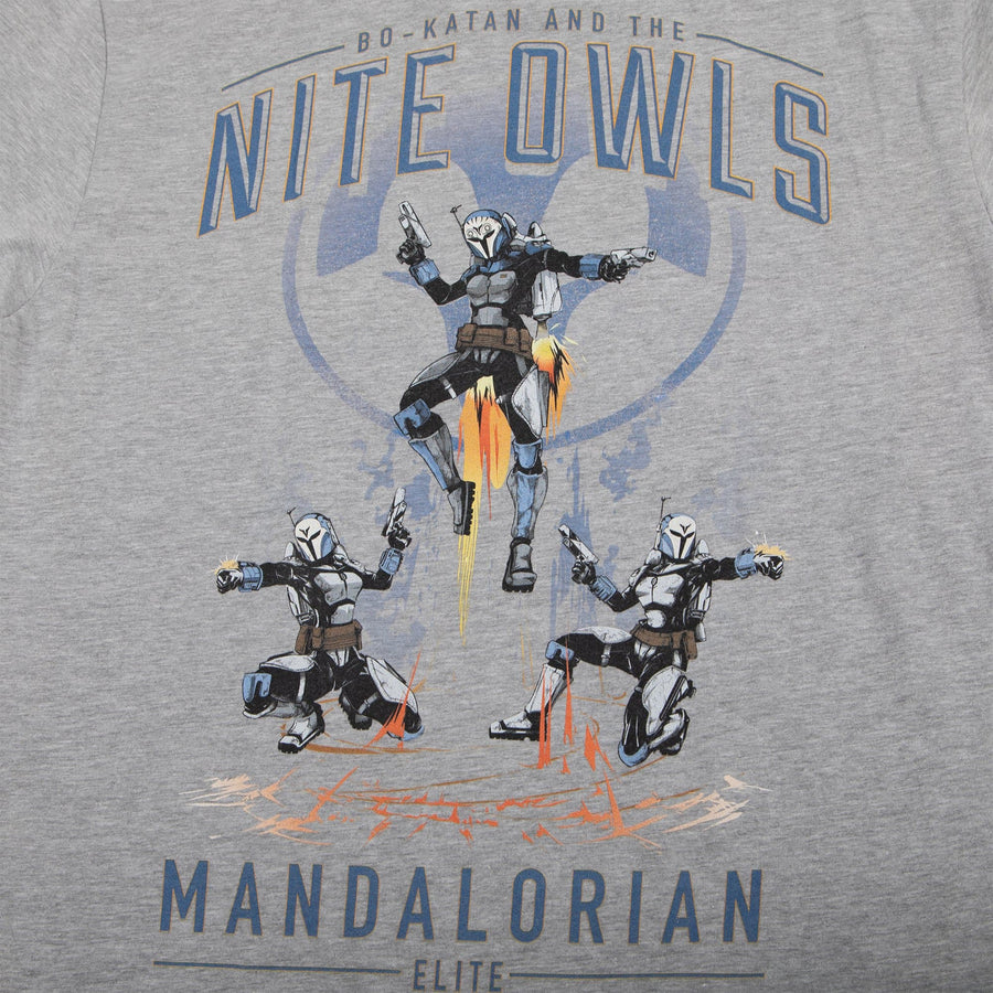 Star Wars Bo-Katan And The Nite Owls Heather Tee