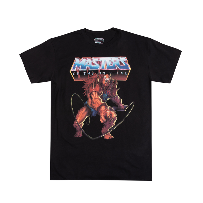 Masters of the Universe Beast Man Black Tee