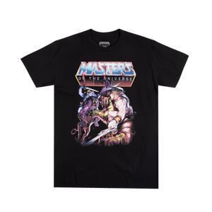 Masters of the Universe Epic Battle Black Tee