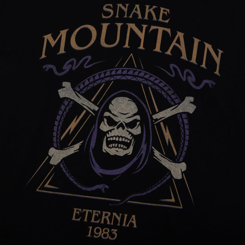 Masters of the Universe Snake Mountain Black Tee