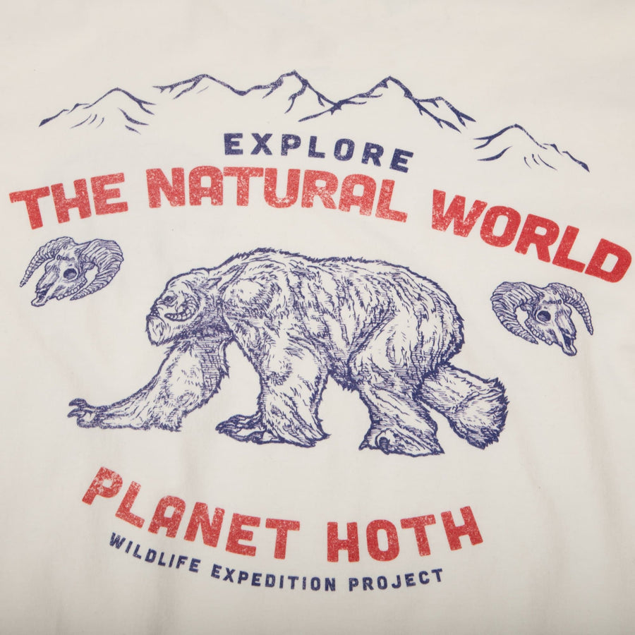 Star Wars Hoth Wildlife Expeditions Natural Tee