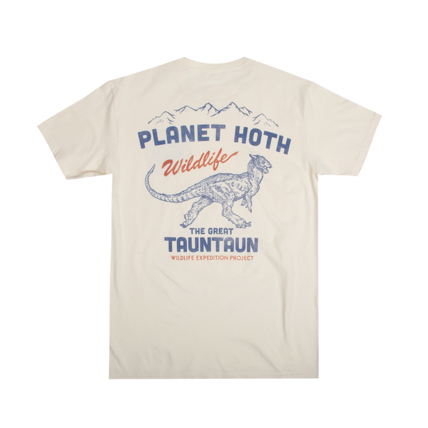 Star Wars Planet Hoth Expeditions Natural Tee