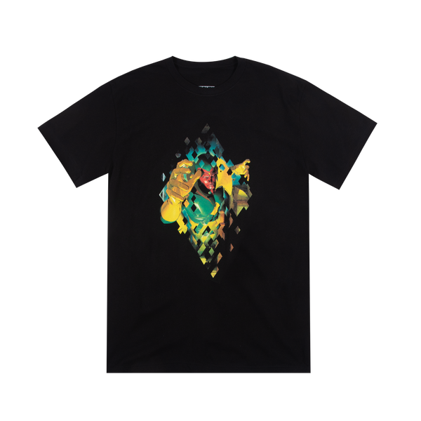Vision Glitched Out Black Tee