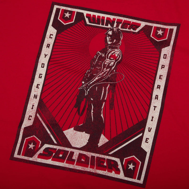 Marvel Winter Soldier Red Tee