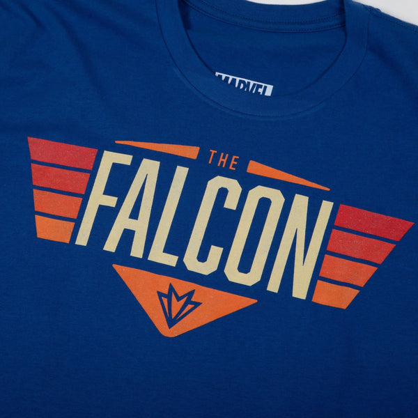 Marvel Falcon Flight Blue Tee