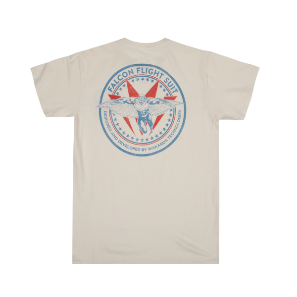 Marvel Falcon Flight Suit Natural Tee