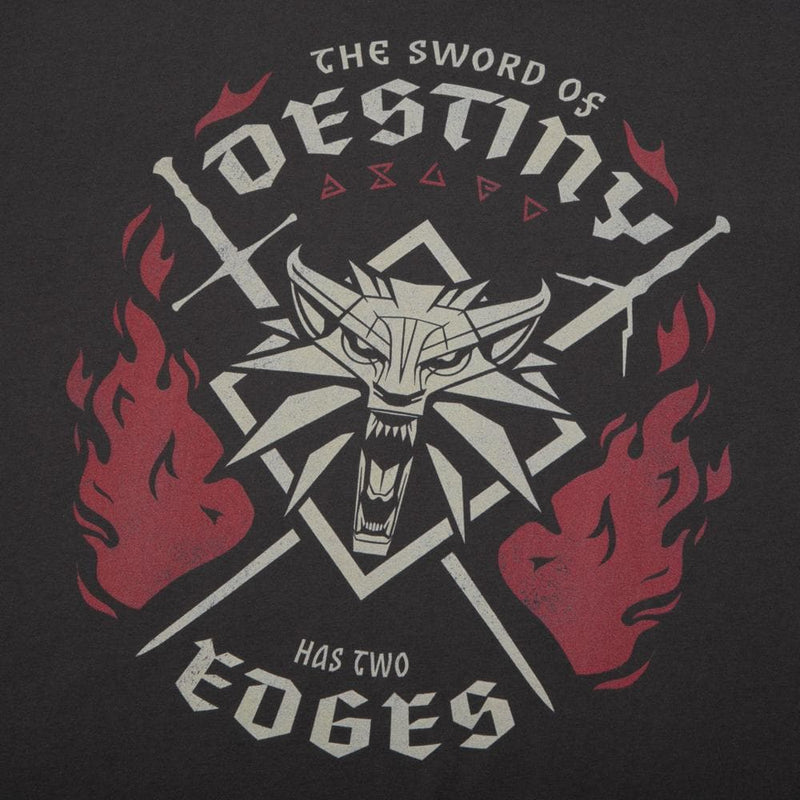 The Witcher Sword of Destiny Charcoal Tee
