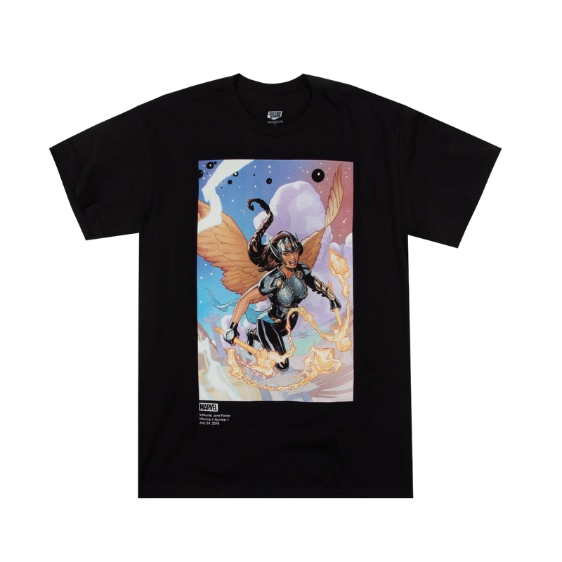 Terry Dodson Valkyrie Jane Foster Black Tee