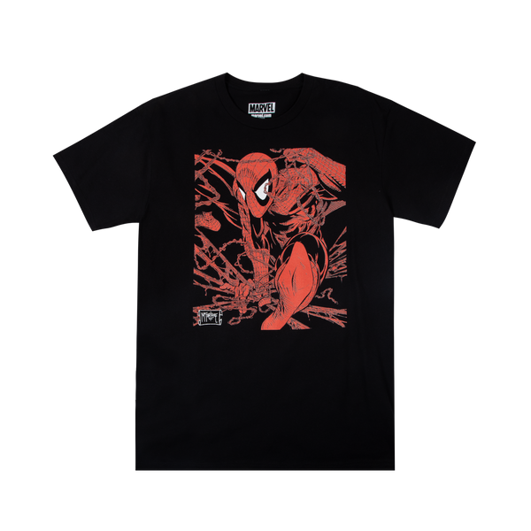 McFarlane Spider-Man Art Black Tee