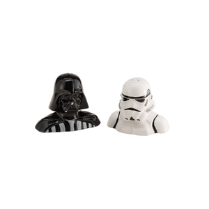 Star Wars Darth Vader and Stromtrooper Salt & Pepper Shakers