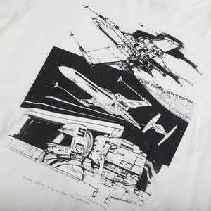 Star Wars X-Wing Cockpit Storyboard Collage Tee