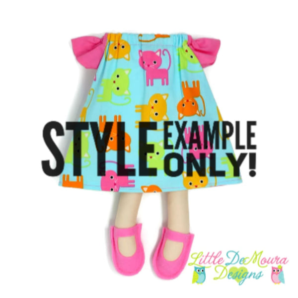 Custom Dolly Clothing Little Demoura Designs Clothes Doll Dolly Dress