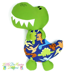 Dino Softy Little Demoura Designs Boys Dino Dinosaur Plushie Softie