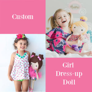 Girl Custom 18 Dress Up Doll Little Demoura Designs 18 Doll Ballerina Best Seller Cloth Doll Custom