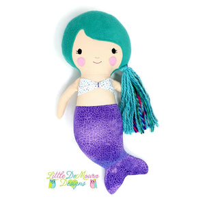 Mermaid Doll- Meribella Little Demoura Designs Ariel Candee Demoura Doll Mermaid