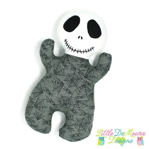 Skeleton Snuggle Baby Little Demoura Designs Baby Doll First Baby Doll Halloween Infant