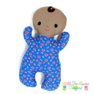 Snuggle Baby- Miracle (Ready To Ship) Little Demoura Designs Baby Doll First Baby Doll Infant Snuggle Baby