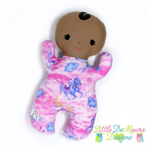 Snuggle Baby- Mystic (Ready To Ship) Little Demoura Designs Baby Doll First Baby Doll Infant Snuggle Baby