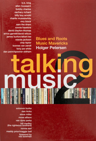 """Talking Music 2: Blues and Roots Music Mavericks"" by Holger Petersen"
