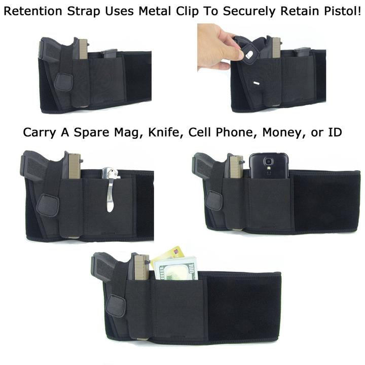 The Ultimate Ankle Holster - ( Buy 2 - The 2nd one 30% OFF ) - ( Special offer : Ultimate Ankle Holster + Ultimate Belly Band Holster- Only $39.99 !)
