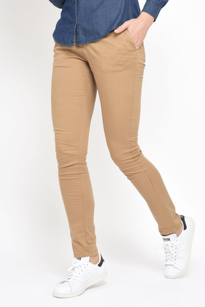 CHINO CAMEL FEMME