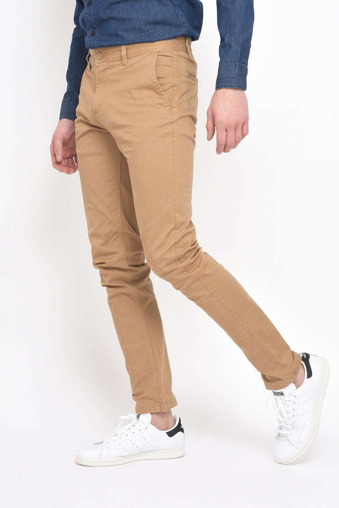 CHINO CAMEL HOMME