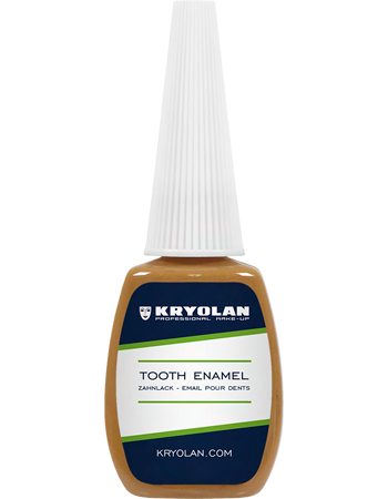 Tooth Enamel is a special product for the color design of teeth. Thoroughly dry the tooth and apply Tooth Enamel by brush and let it dry before closing the mouth. Tooth Enamel can be removed by thoroughly cleaning the teeth or using alcohol.