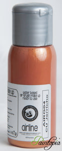 50ml bottle of C U Jehricco bronze airbrush paint produced by Cameleon
