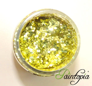 Glitterlution - Bioglitter®- 25ml Super Chunky Gold