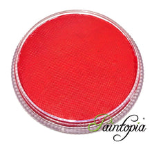 Cameleon In Love Red UV facepaint in a round plastic container. 32g in size