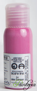 Cameleon airbrush paint in shade Juicy Pink. Produced in a 50ml plastic bottle.