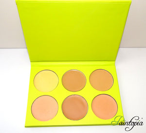 Cameleon Makeup - Foundation Palette (medium)