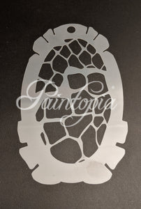 Medium size giraffe pattern Cut by Cat stencil