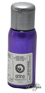 50ml bottle of Nika Purple airbrush paint produced by Cameleon