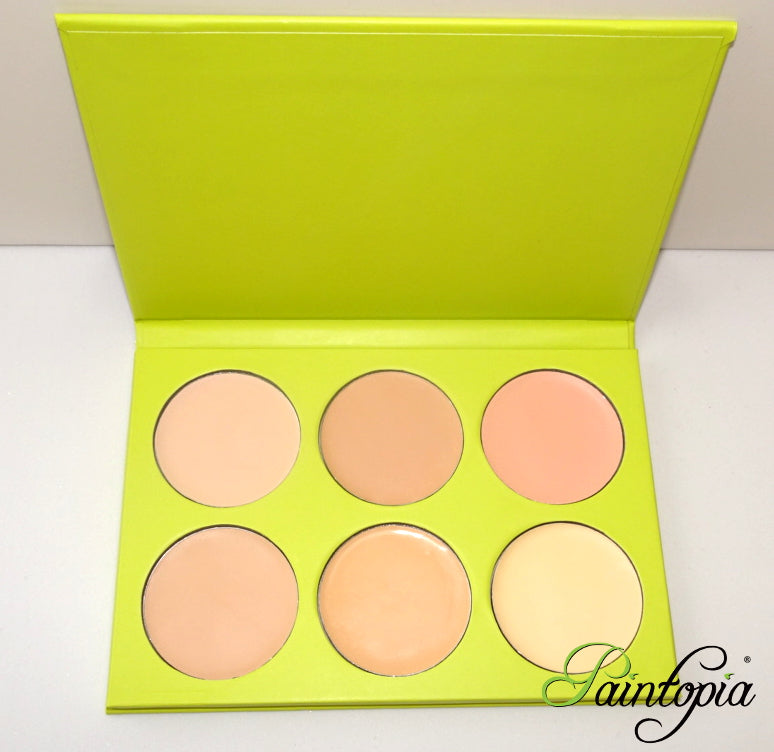 Cameleon Makeup - Foundation Palette (Pale)