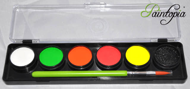 Cameleon Face & Body Paint - UV Palette