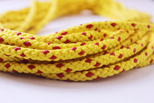 6mm Floating/Safety rope, yellow with fleck